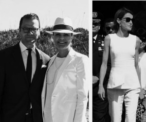 "las ""royals"" en ""total white look"" este verano europeo 2015"