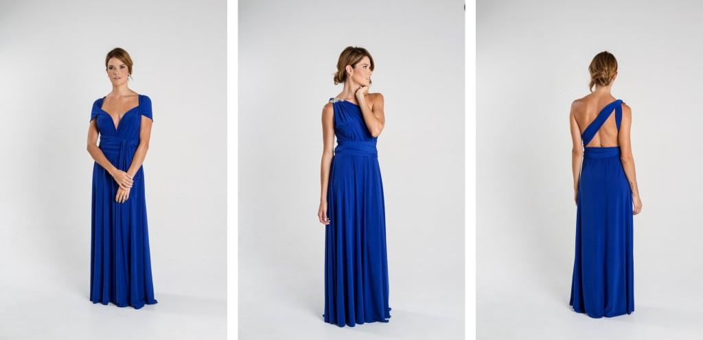 Vestido Infinity en lycra, de Turquesa Slow Fashion. Diseño de Irene Piedra Batalla.
